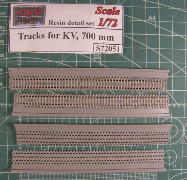 OKBS72051 Траки для танков КВ 700 мм          Tracks for KV, 700 mm (thumb7657)