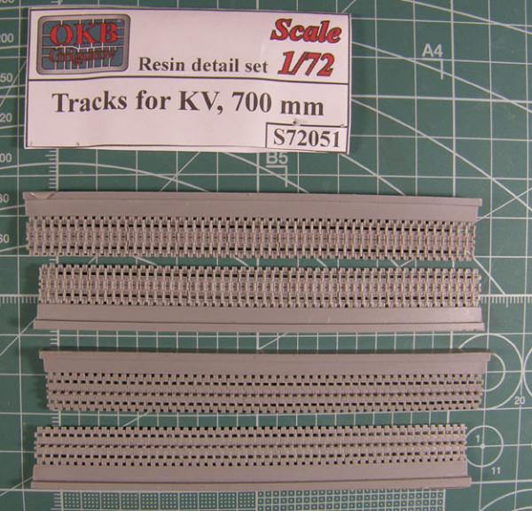 OKBS72051 Траки для танков КВ 700 мм          Tracks for KV, 700 mm (thumb7657)