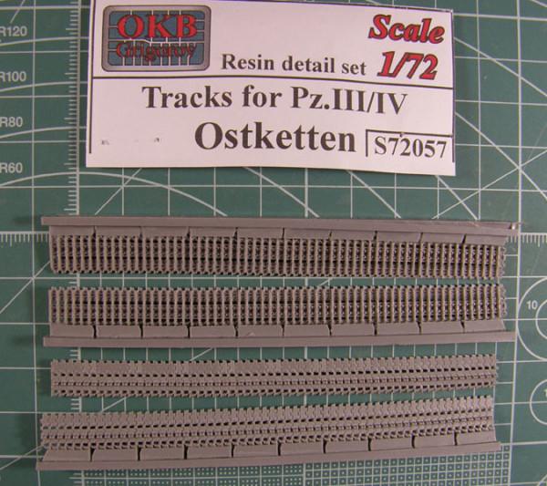 OKBS72057 Траки для танков семейств Pz.III/ Pz/IV  и машин на их шассии широкие, тип Ostketten                Tracks for Pz.III/IV , Ostketten (thumb7680)