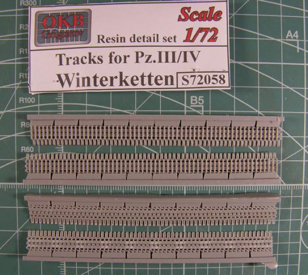 OKBS72058 Траки для танков семейств Pz.III/ Pz/IV  и машин на их шассии широкие, тип Winterketten               Tracks for Pz.III/IV , Winterketten (thumb7684)