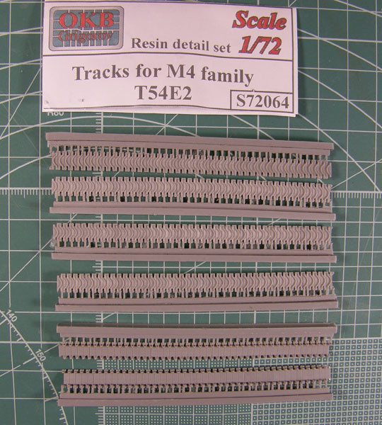 OKBS72064 Траки для семейства танков М4 тип T54E2               Tracks for M4 family, T54E2 (thumb7709)