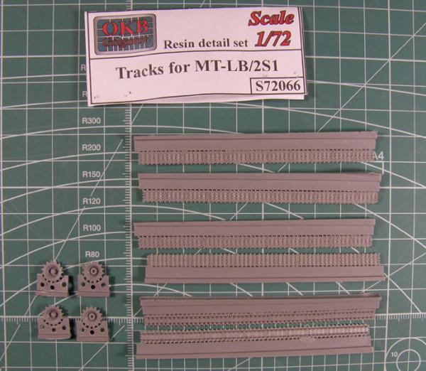 OKBS72066 Траки для семейства машин на шасси МТЛБ/2С1 350 мм ОМШ          Tracks for MT-LB/2S1 (thumb7715)