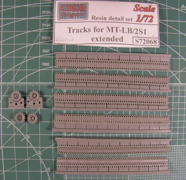 OKBS72068 Траки для семейства машин на шасси МТЛБ/2С1 широкие, повышенной проходимости 560 мм            Tracks for MT-LB/2S3,extended (thumb7725)