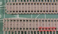 OKBS72069 Траки для семейства машин ИС/ИСУ ранние штампованные 650мм «разрезные» (гребни на траках через 1 звено)           Tracks for IS/ISU,initial «cut» type,650 mm (attach1 7730)