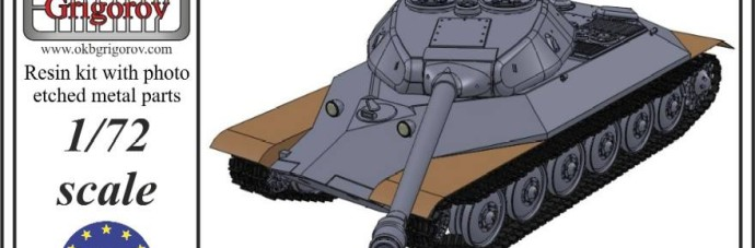 OKBV72048    Советский тяжелый танк ИС-6 модель 1944 года         Soviet Heavy Tank IS-6 mod. 1944 (thumb11794)