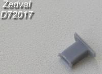 ZdD72017   Выпускной патрубок для Т-72, Т-90      Exhaust Т-72, Т-90 (attach1 7325)