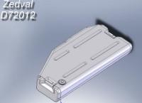 ZdD72012   Топливные баки для Т-72-Т-90          Fuel tanks T-72-T-90 (5pc) (attach4 7306)
