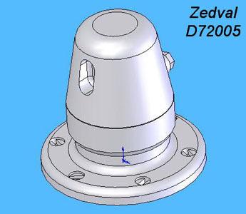 ZdD72005   Бронировка перископа для Т-34         Armor protection of a periscope T-34 (thumb7288)
