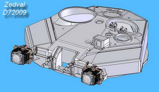 "ZdD72009   Комплекс оптико-электронного противодействия ТШУ-1-7 «Штора-1».          T-90 optronic counter TSHU-1-7 ""Shtora-1"" (thumb7296)"