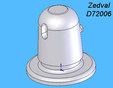 ZdD72006   Бронировка перископа для Т-34        Armor protection of a periscope T-34 (thumb7290)