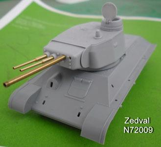 ZdN72009   Набор деталей для конверсии Т-34/76 обр. 1941года в Т-34-3               Set of details for conversion of T-34/76 обр. 1941 in T-34-3 (thumb7234)