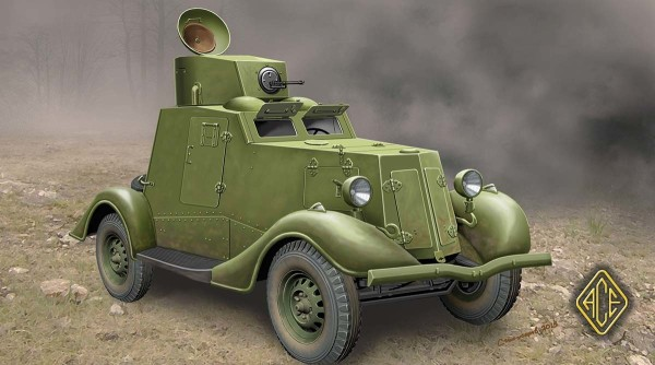 ACE48107   FAI-M Soviet WW2 armored car (thumb6471)
