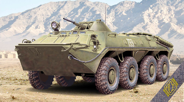 ACE72164   BTR-70 (early) Modern Soviet APC (rubber tyres) (thumb6487)