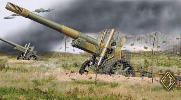ACE72227   ML-20 Soviet WW2 152mm gun-howitzer (thumb6510)