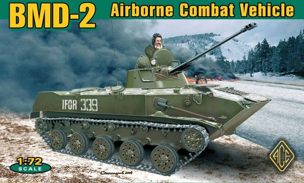 ACE72115   BMD-2 Airborne IFV (PE parts, rubber tracks) (thumb6481)