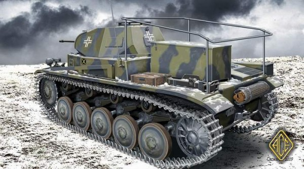 ACE72270   PzBeoWg II (artillery observation vehicle ) (thumb6545)