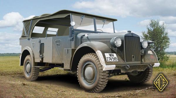 ACE72259   Kfz.16 -uniform chassis medium signals car (thumb6533)
