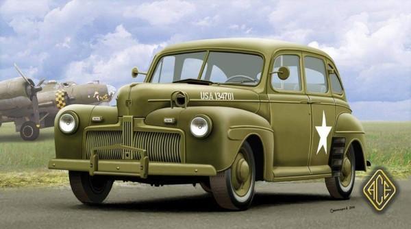 ACE72298   US Army Staff Car Fordor model 1942 (thumb6591)