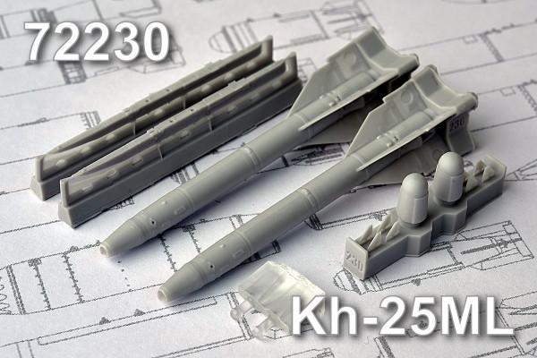 AMC 72230   Х-25МЛ «изделие 713»  Авиационная управляемая ракета класса «Воздух-поверхность» (в комплекте две ракеты Х-25МП с АПУ-68УМ2). (thumb10422)