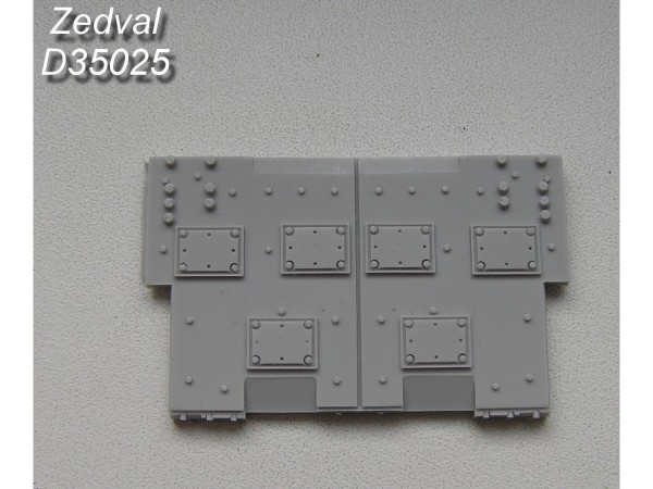 ZdD35025   Блок встроенной  динамической защиты ВЛД «Контакт-V».           Built-in dynamic protection unit VLD (thumb7383)