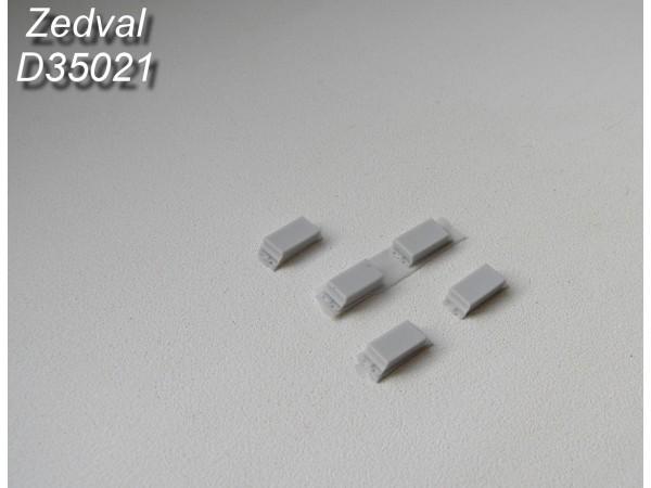 ZdD35021   Контейнеры динамической защиты «Контакт-3» тип «А»         Containers of explosive reactive armor (thumb7376)