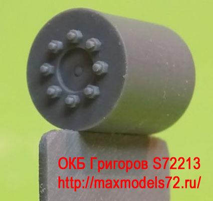 OKBS72213 Ведущее колесо - звездочка для танков M4 Sprockets for M4 family, VVSS D47366A, casting (6 per set) (attach1 8605)