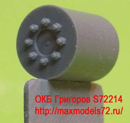 OKBS72214 Ведущее колесо - звездочка для танков M4 Sprockets for M4 family, VVSS D47366, forging (6 per set) (attach1 8608)