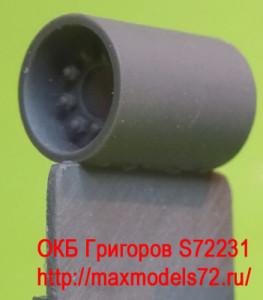 OKBS72231 Ведущее колесо - звездочка для танков M4 Sprockets for M4 family, HVSS D47366, forging (6 per set) (attach1 8624)