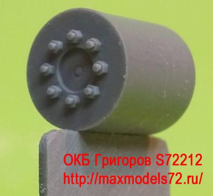 OKBS72212 Ведущее колесо - звездочка для танков M4 Sprockets for M4 family, VVSS D47366 economy (6 per set) (attach1 8602)