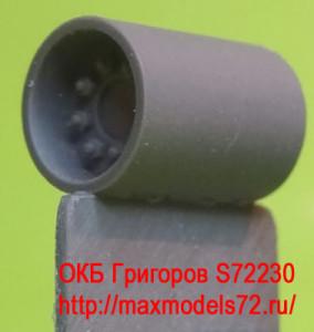 OKBS72230 Ведущее колесо - звездочка для танков M4 Sprockets for M4 family, HVSS D47366A, casting (6 per set) (attach1 8621)