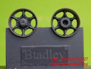 OKBS72227 Катки для M2/3, AAV7, M270 поздние Wheels for M2/3, AAV7, M270, late (attach1 10480)