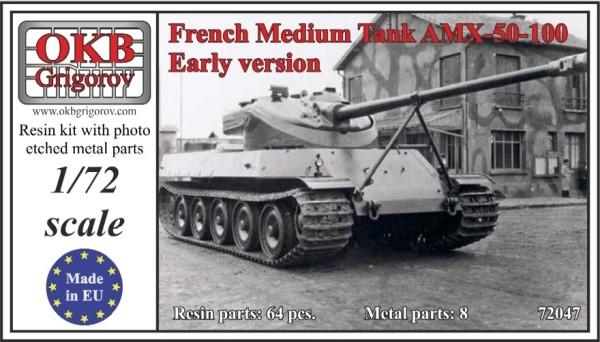 OKBV72047   Французский средний танк AMX-50-100 ранняя версия      French Medium Tank AMX-50-100, Early version (thumb10456)