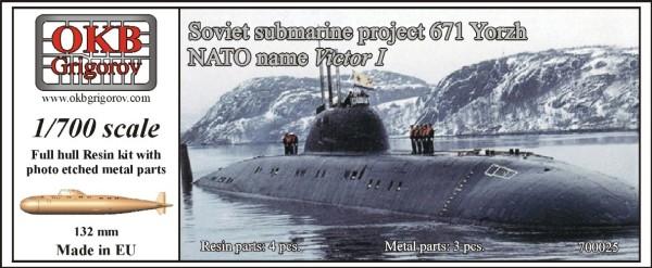 OKBN700025   Soviet submarine project 671 Yorzh (NATO name Victor I) (thumb11211)