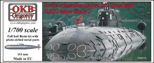 OKBN700039   Soviet submarine project 945 Barrakuda (NATO name Sierra I) (thumb11257)