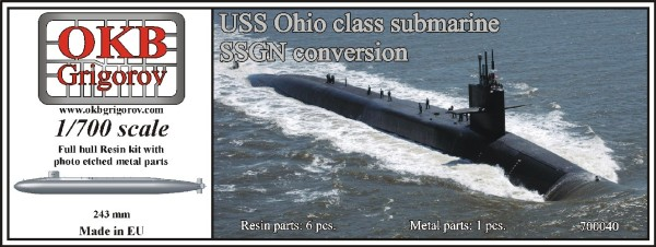OKBN700040   USS Ohio class submarine,SSGN conversion (thumb11260)