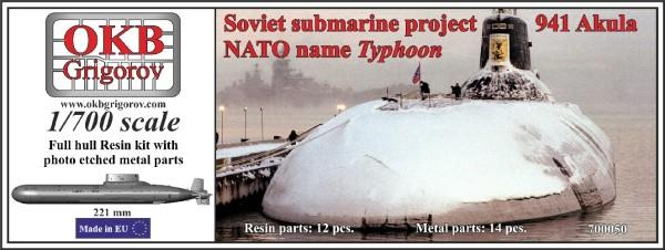 OKBN700050   Soviet submarine project 941 Akula (NATO name Typhoon) Out of production (thumb11282)