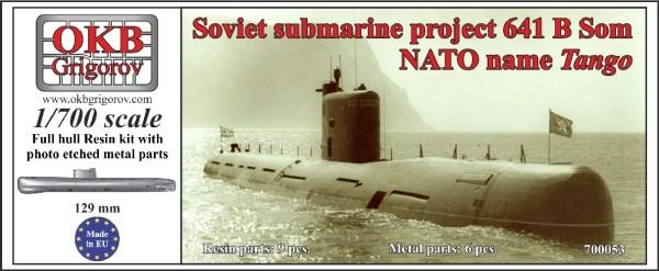 OKBN700053   Soviet submarine project 641 B Som (NATO name Tango) (thumb11291)