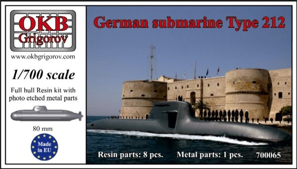 OKBN700065   German submarine Type 212 (thumb11323)