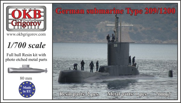 OKBN700067   German submarine Type 209/1200 (thumb11327)