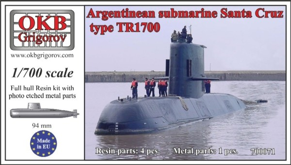 OKBN700071   Argentinean submarine type TR1700 (thumb11342)