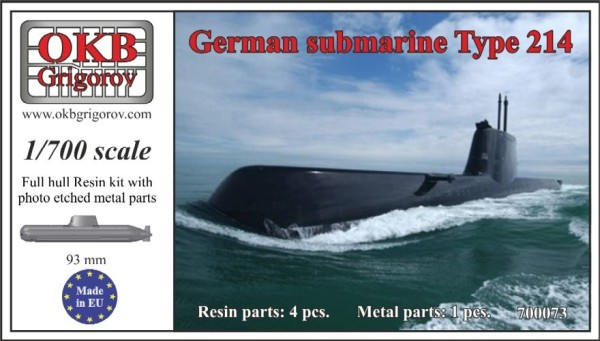 OKBN700073   German submarine Type 214 (thumb11346)