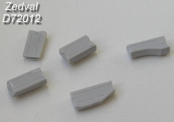 ZdD72012   Топливные баки для Т-72-Т-90          Fuel tanks T-72-T-90 (5pc) (thumb7306)