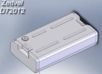 ZdD72012   Топливные баки для Т-72-Т-90          Fuel tanks T-72-T-90 (5pc) (attach2 7306)