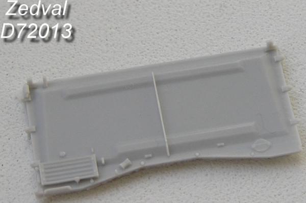 ZdD72013   Надмоторная плита для Т-72         Engine cover T-72 (thumb7313)