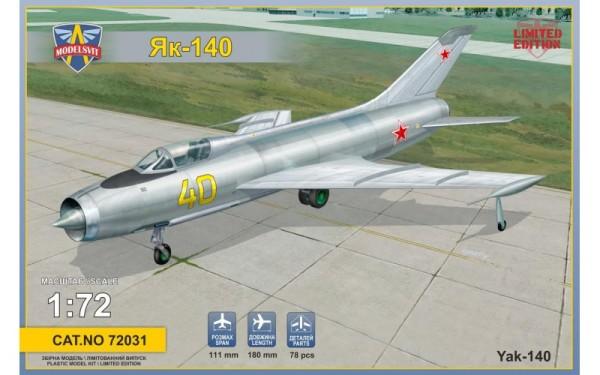 MSVIT72031   Yakovlev Yak-140  Soviet prototype fighter (thumb9361)