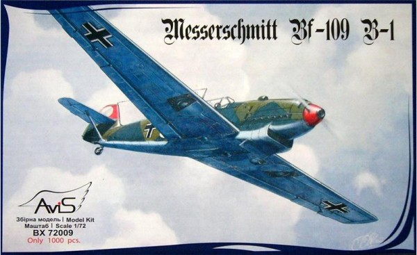 AV72009   Messerschmitt Bf-109 B-1 WWII German fighter (thumb9394)