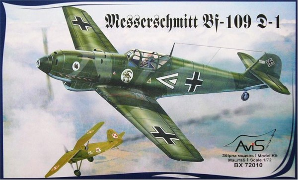 AV72010   Messerschmitt Bf-109 D-1 WWII German fighter (thumb9396)