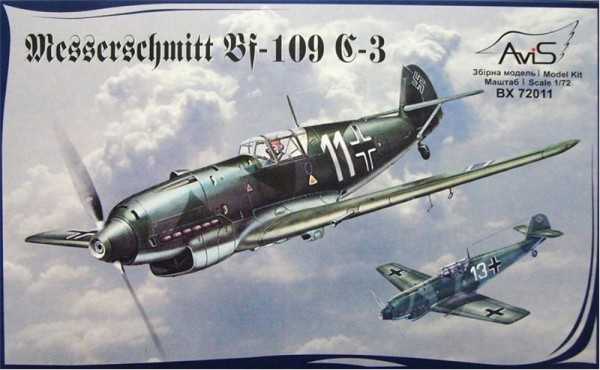 AV72011   Messerschmitt Bf-109 C-3 WWII German fighter (thumb9398)