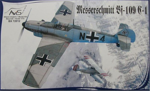 AV72012   Messerschmitt Bf-109 C-1 WWII German fighter (thumb9400)