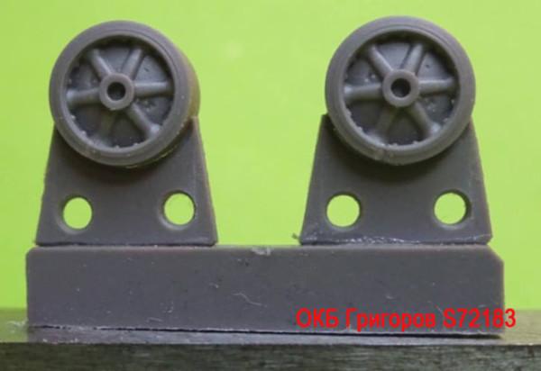 OKBS72183 Катки для семейства танков M4             Wheels for M4 family, VVSS stamped spoke (thumb8739)
